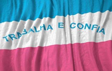 Corrugated brazilian state espirito santo flag