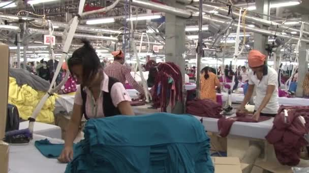 Textile Garment Factory: Ironing completed garments