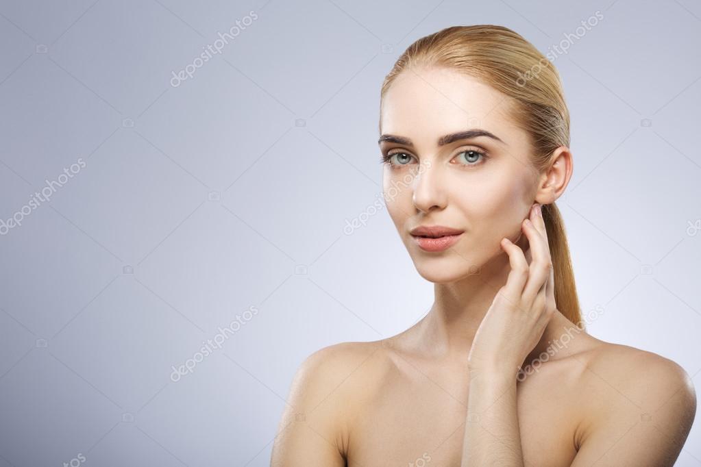 Woman using dildo animated