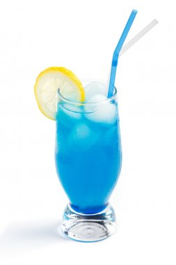 Cocktail blue lagoon