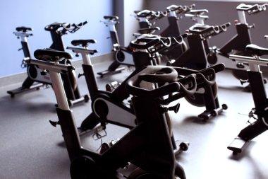 black exercise bikes