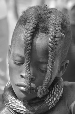 Child from Himba tribe