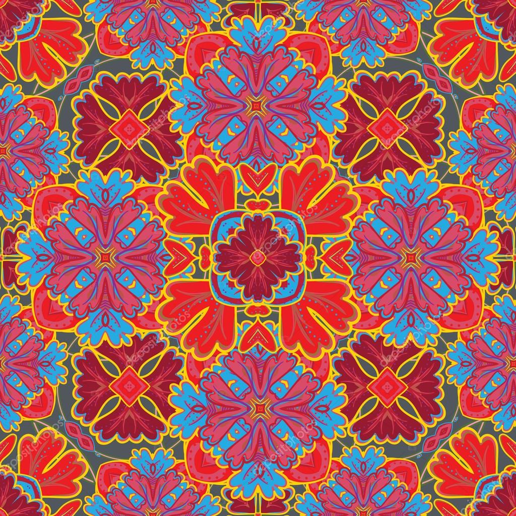 seamless pattern from colorful moroccan tiles ornaments. Black Bedroom Furniture Sets. Home Design Ideas