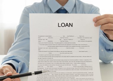 Employees Credit show Loan Documents