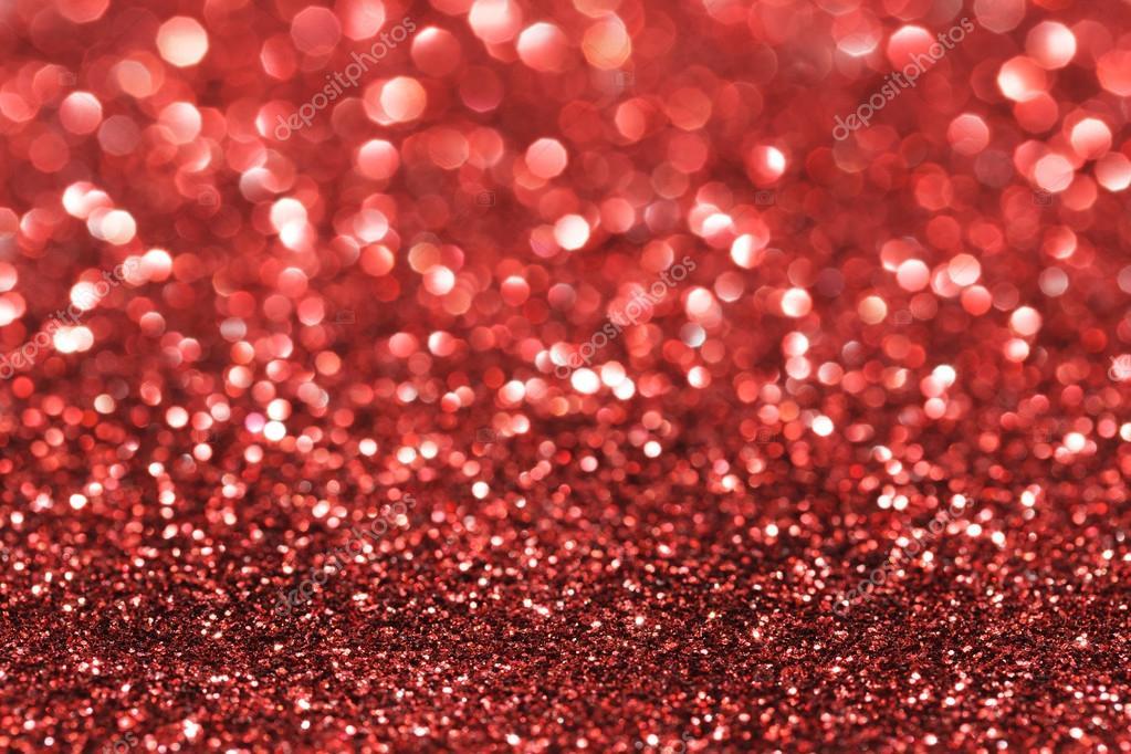 Sfondo Brillantinato Rosso Sfondo Glitter Rosso Foto Stock