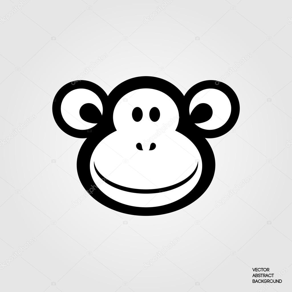 Смс рисунок символами обезьянка