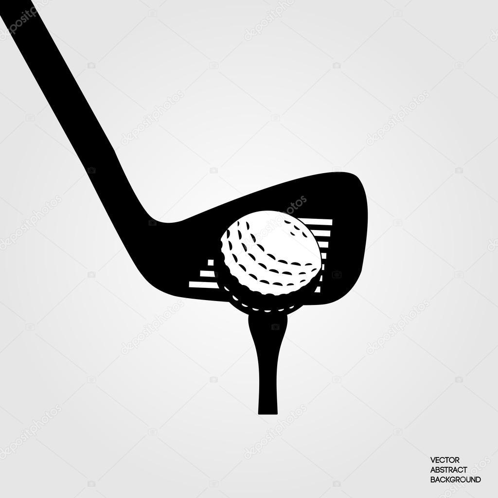 Golf Symbol Putter Golf Golf Silhouette Golf Symbol Golf Club