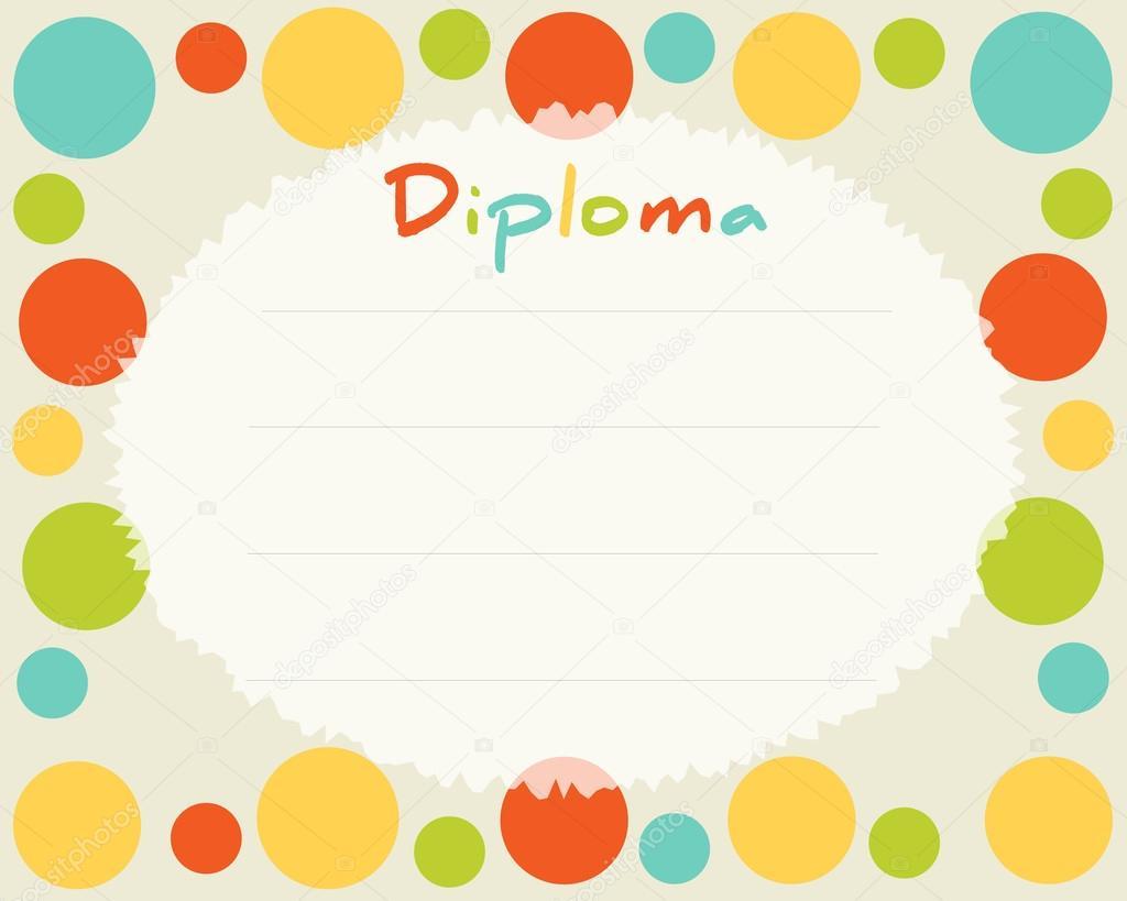Fant 225 Sticos Dise 241 Os De Fondos: Diplomas De Colores Preescolar Primaria Fondo Certificado
