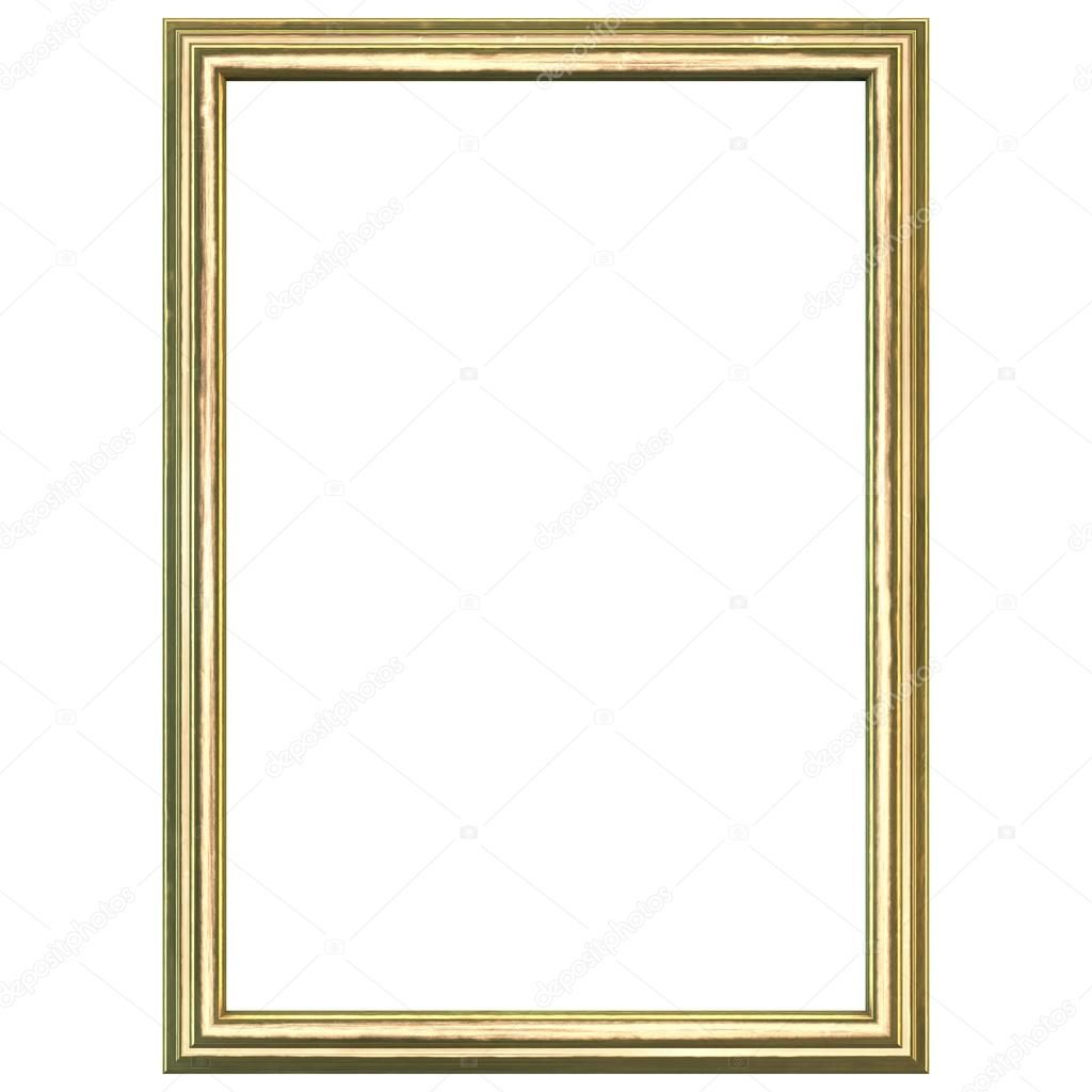 Goldenen Holzrahmen — Stockfoto © somartin #85593854