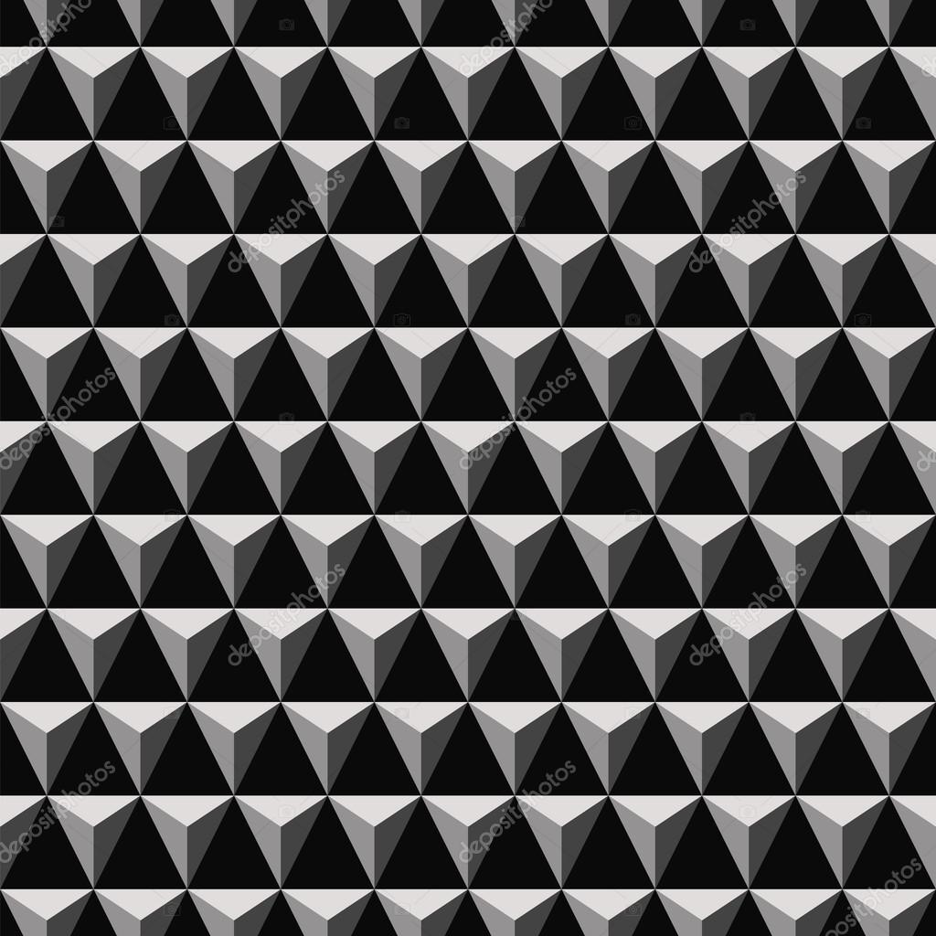3D triangular pyramid pattern — Stock Vector © koksikoks #112187736
