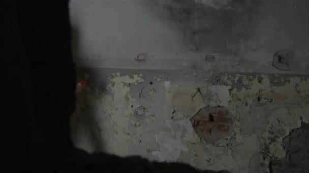 Graffiti muž je kresba na zdi