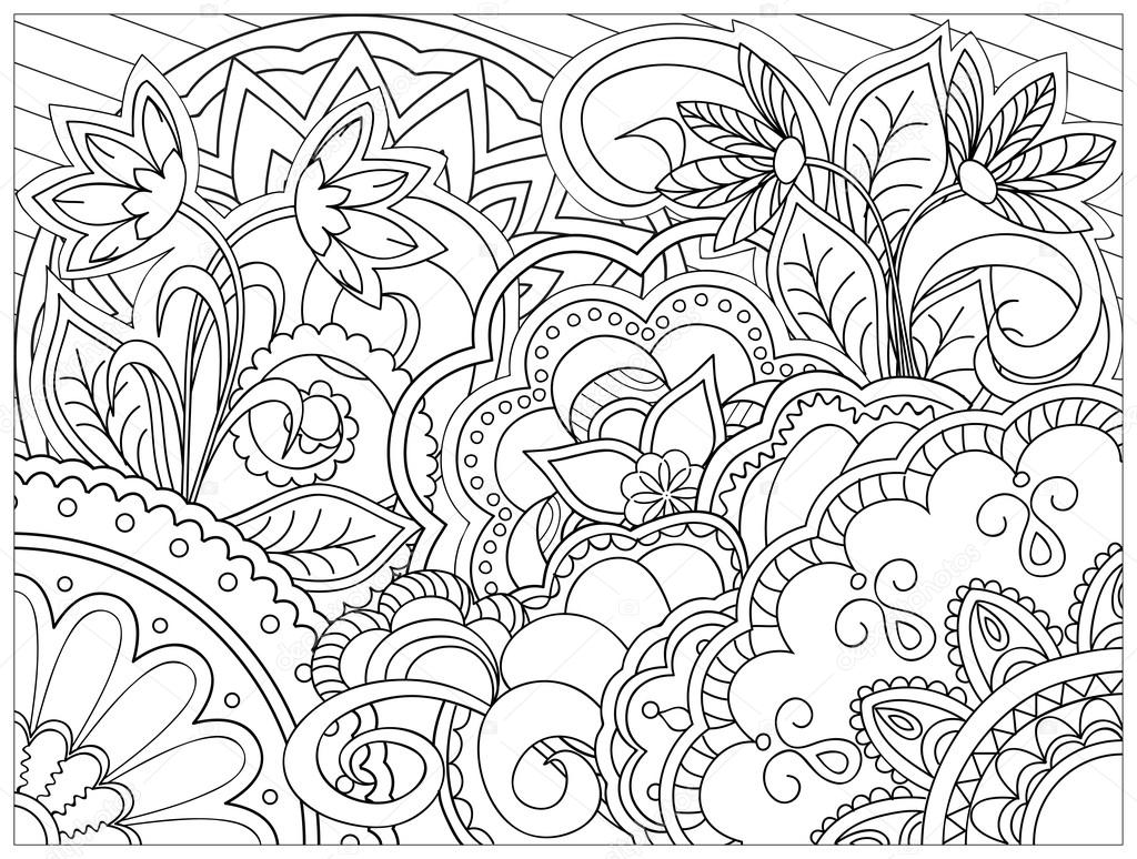 Cuadro Estilo Zentangle Vector De Stock 169 Sliplee 100266210