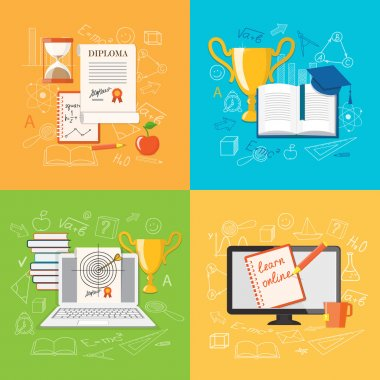 set of content of education