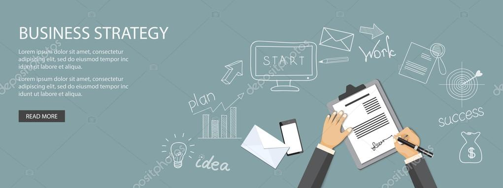 banner of site business strategy