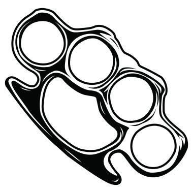 Back Brass knuckles
