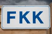 Photo Germany, Schleswig-Holstein, Baltic Sea, Sign FKK at beach
