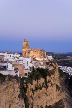 Spain,Andalusia,Arcos de la Frontera,Church,San Pedro