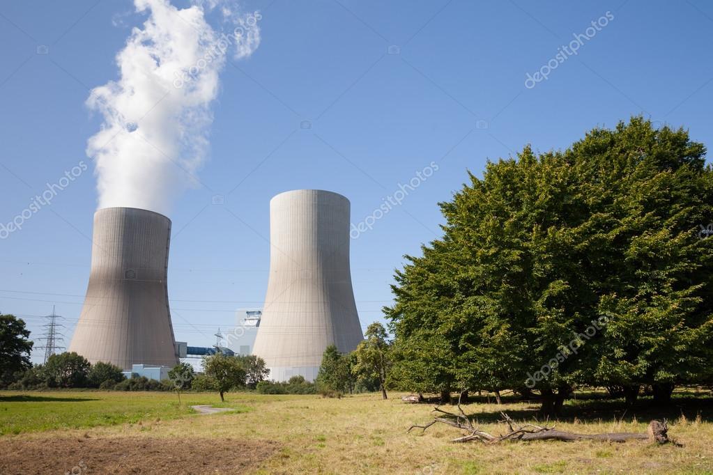 Germany, North Rhine-Westphalia, Hamm, Hard coal-fired power sta