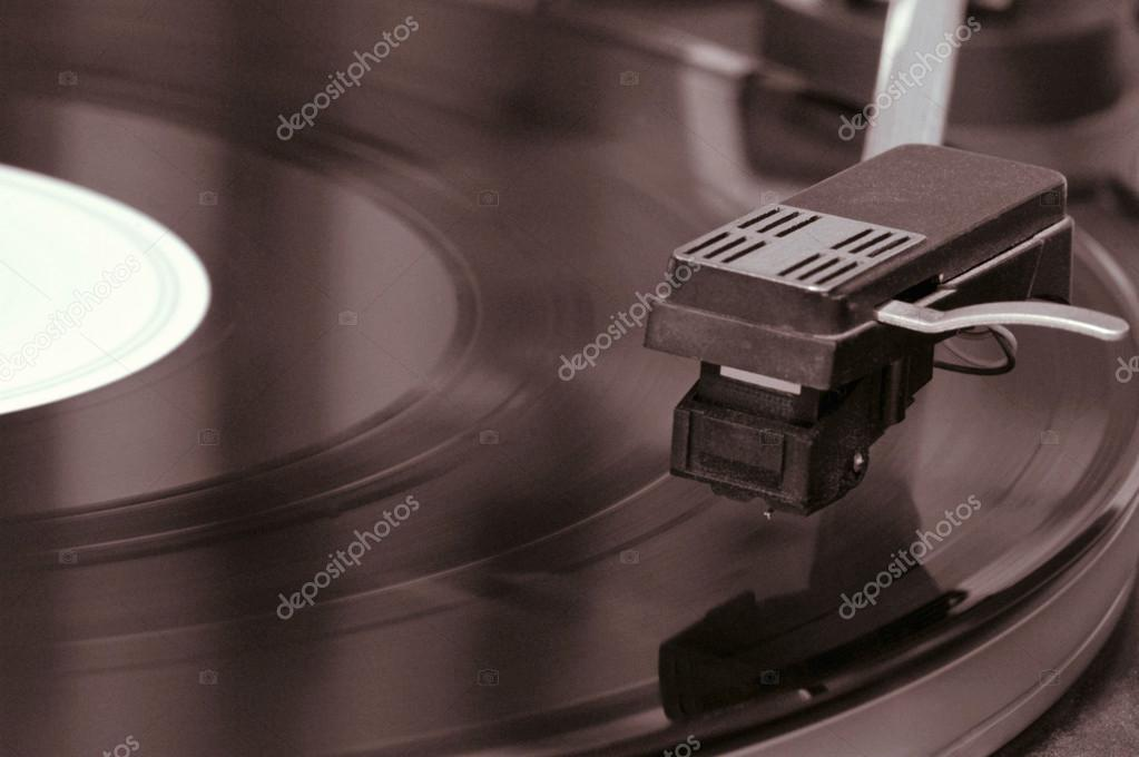 Record player, detail