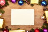 Vánoční dárky a prázdné vizitky