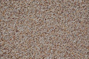 Pebble stone wall background