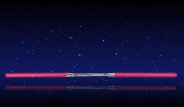 Light swords. Weapon futuristic