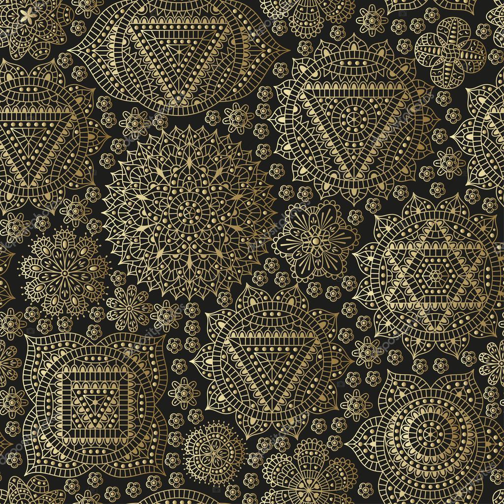 Patr n sin fisuras con los siete chakras adornos for Carrelage oriental