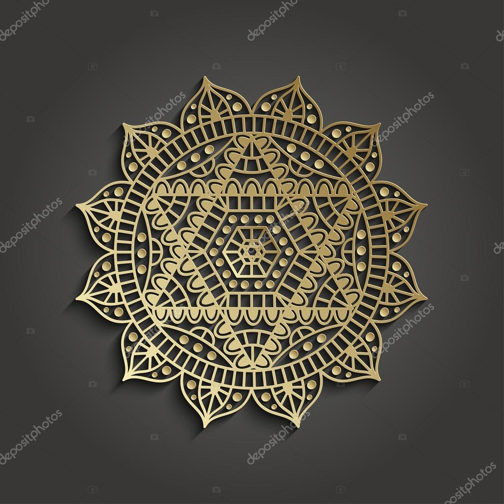 Plantilla con pictograma de Anahata chakra en yoga studio business ...