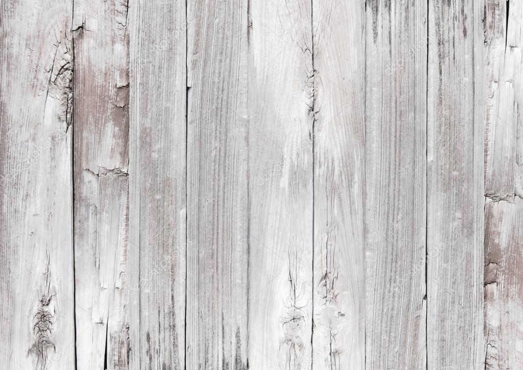 White Wooden Textured Woodgrain Background Stock Photo