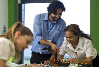 Robotic technology in school