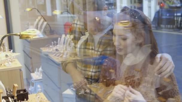 Jewellery Shop Window Shopping