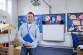 Porträt eines Lehrers