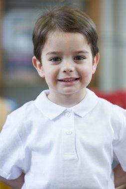 Portrait of a Nursery Student