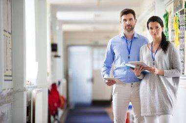 Teachers in the Corridor