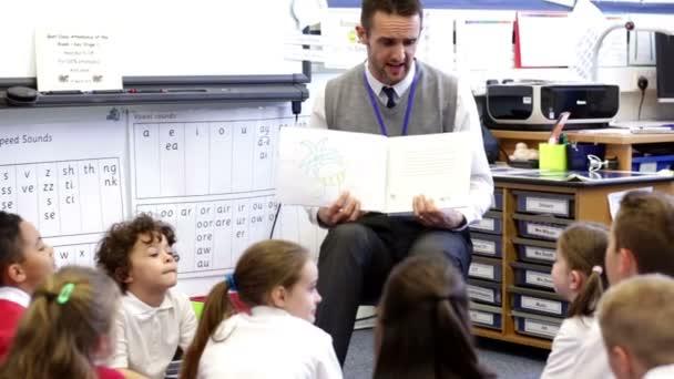 Storytime v učebně