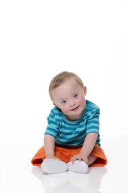 Happy Downsyndrome Baby