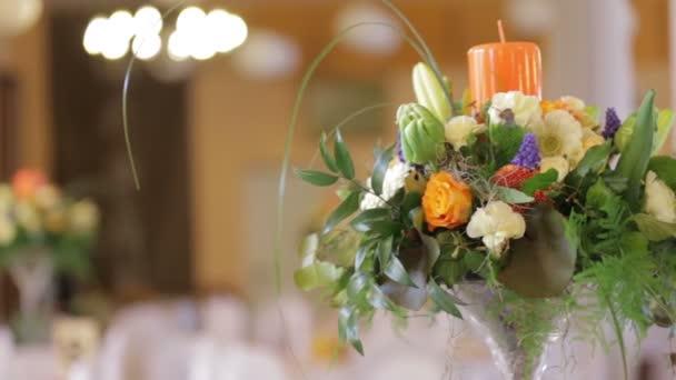 Svatební stůl zdobené - stopáže akcie