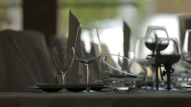 Shoot of an elegant tableware.
