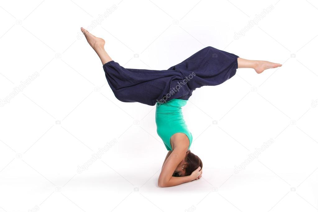 Xxx yoga girl upside down nude fucking jacqueline