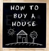 Fényképek Hogyan Buy ház Chalkboard