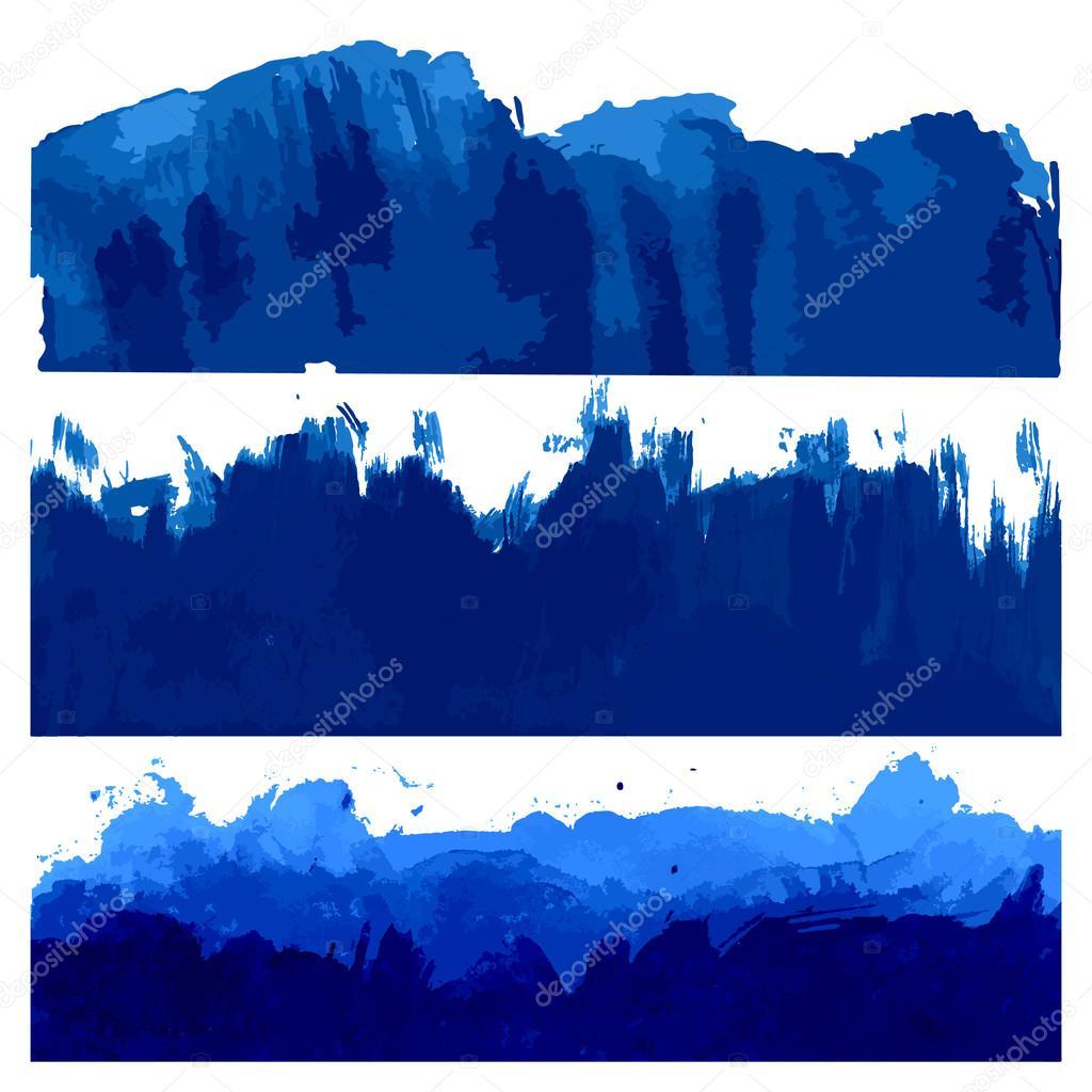 Ocean and Sea Waves Illustration