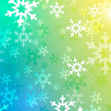 Vector Colorful Winter Texture