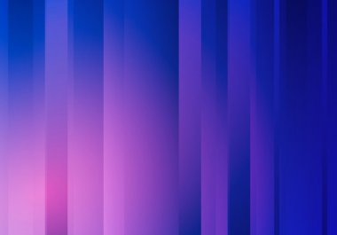 Abstract Blue Background with Stripes