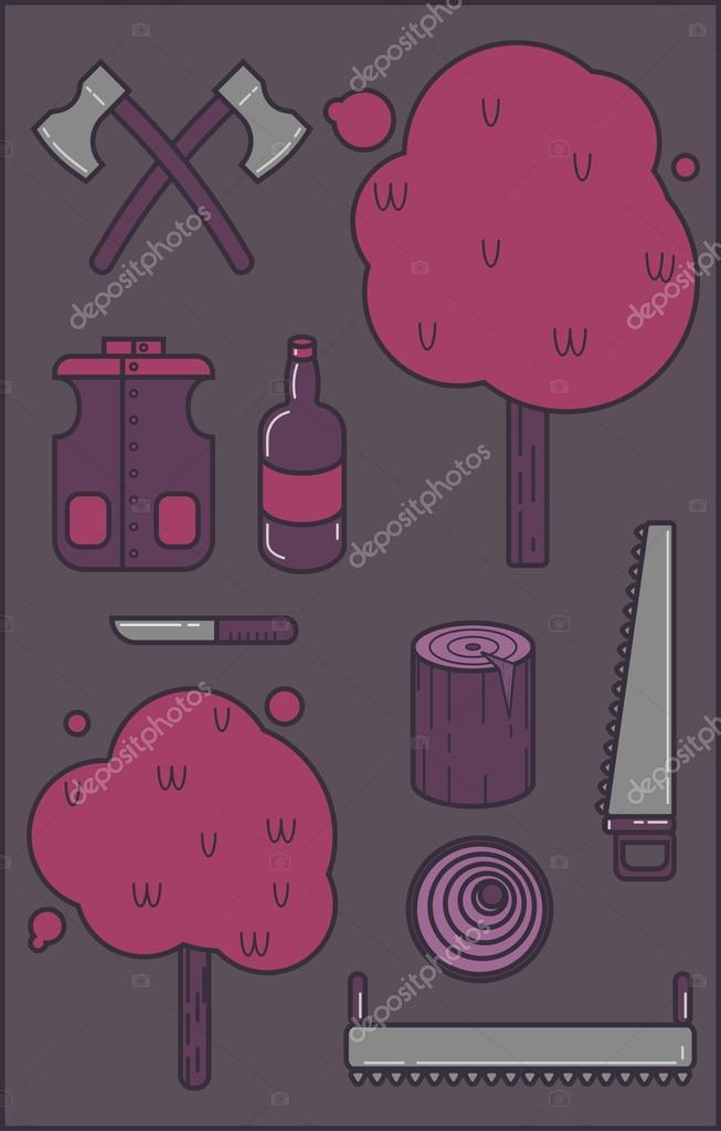 Lumberjack set