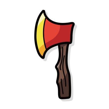axe color doodle