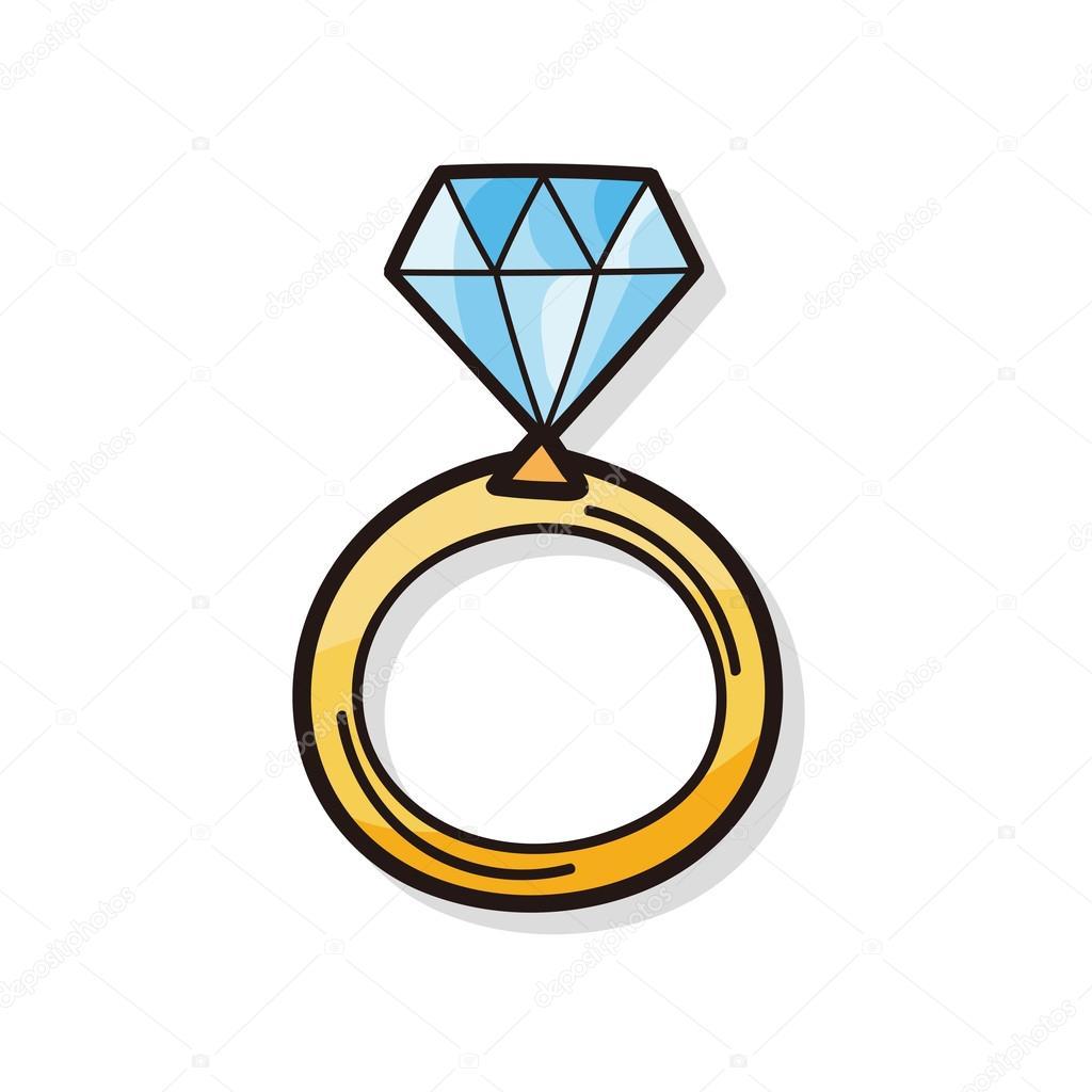 Dimont Ring Cartoon