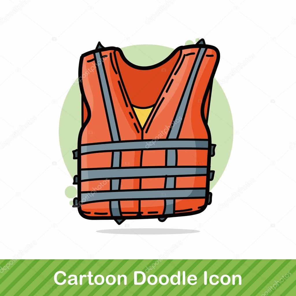 Flytv 228 St F 228 Rg Doodle Vektor Illustration Stock Vektor