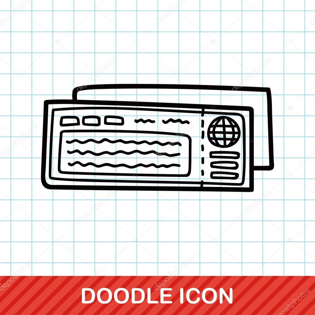 doodle flyg