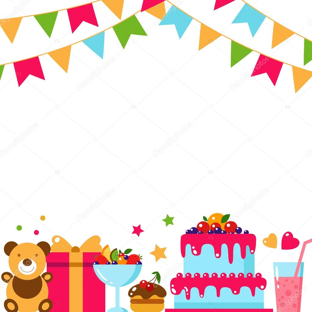 誕生日カード テンプレート ストックベクター Zabavinaula 101124690