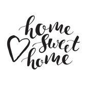 Sladký domů nápisy